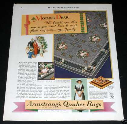 Armstrong Quaker Rugs (1929)