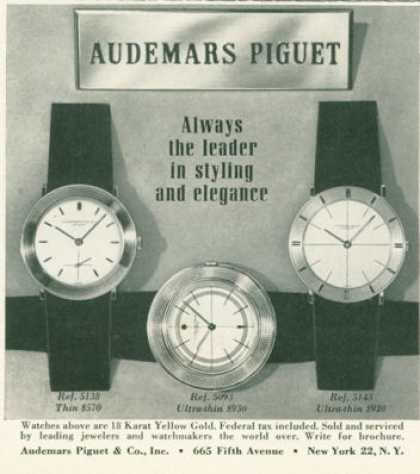 Audemars Piguet Watch Photo Fashion (1959)