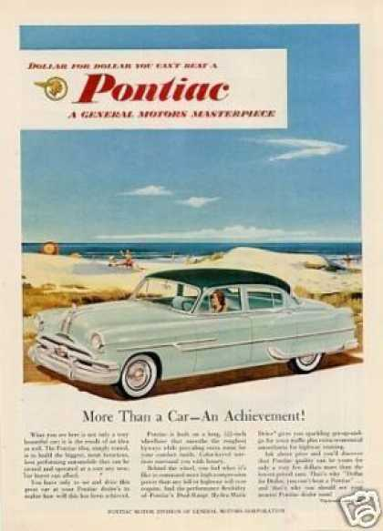 "Pontiac Car Ad ""More Than a Car... (1953)"