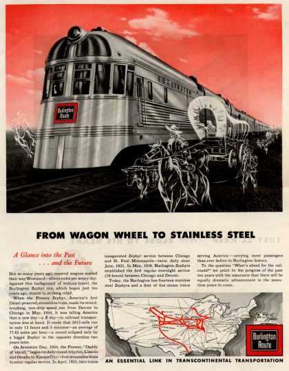 Burlington Route – From Wagon Wheel to Stainless Steel (1944)