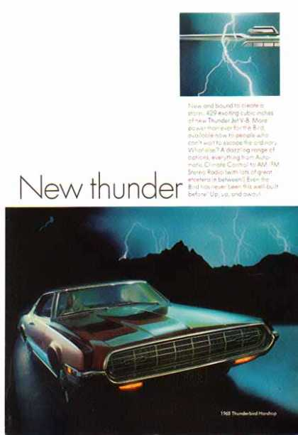 Ford Car – Thunderbird Hardtop – Sold (1968)
