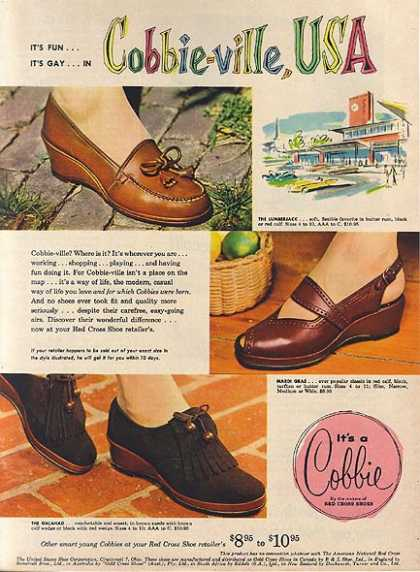 Cobbie's Red Cross Shoes (1953)
