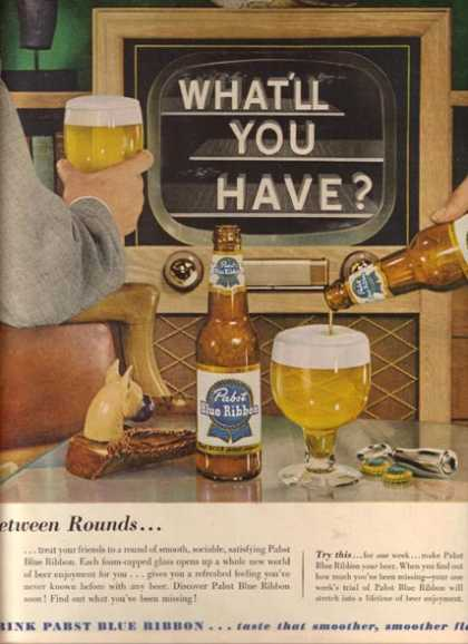 Pabst Beer (1953)