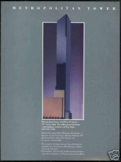 New York Metropolitan Tower Condominium (1985)