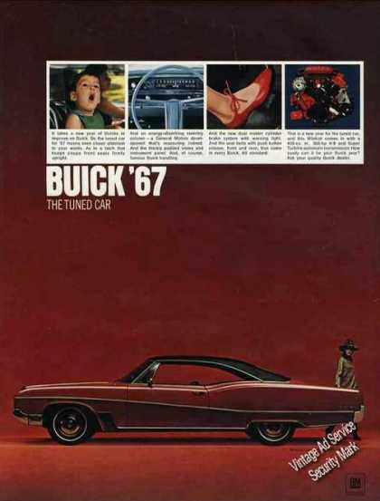 Buick Wildcat Sport Coupe (red) Car (1967)