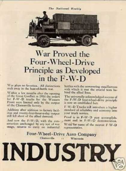 Fwd Truck Ad 2 Page (1918)
