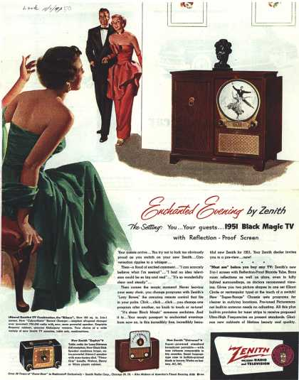 Zenith Radio Corporation's Television – Enchanted Evening by Zenith (1950)