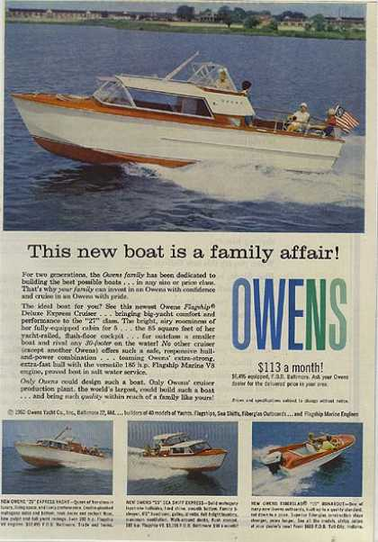 Owen's Pleasure Boats (1960)