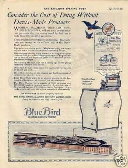 Blue Bird Washer (1921)