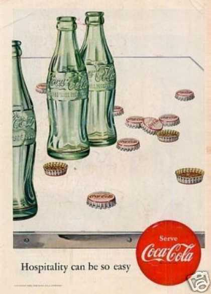 "Coca-cola Ad ""Hospitality Can Be... (1952)"