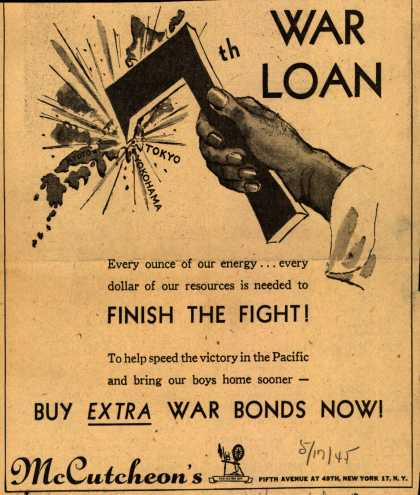McCutcheon's 7th War Loan – 7th War Loan (1945)