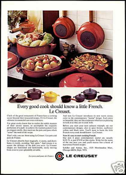 Le Creuset Cast Iron Cookware Photo (1978)