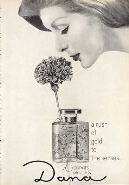 Dana 20 Carats Pefume Bottle (1963)