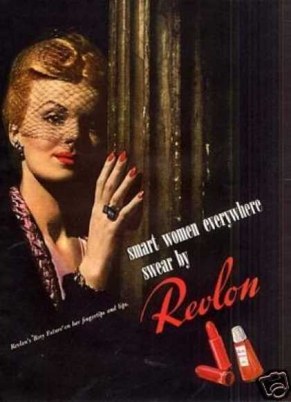 "Revlon Cosmetics Ad ""Smart Women... (1943)"