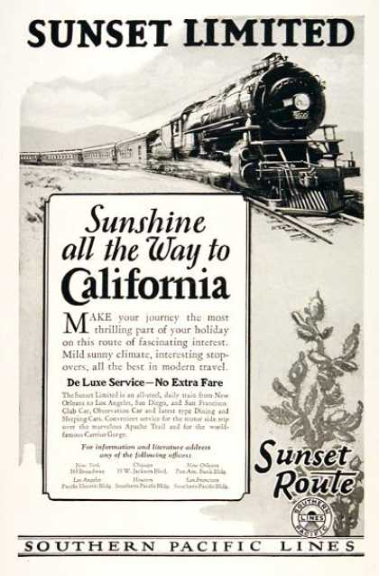 Southern Pacific Railroad (1926)