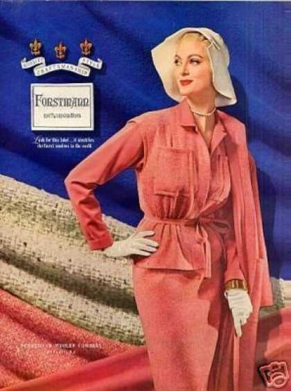 Forstmann Ladies Fashion (1954)