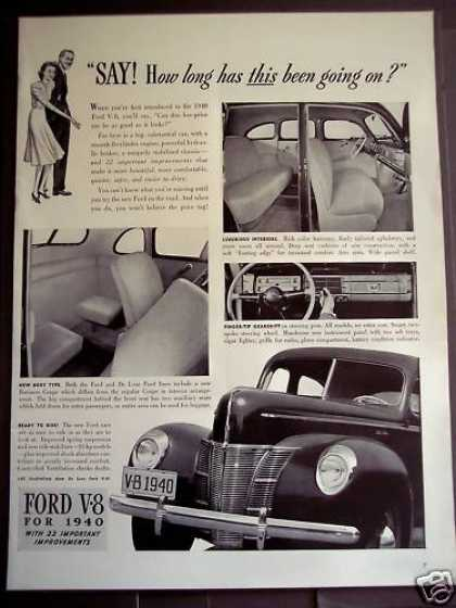 Ford V-8 Automobile for '40 Car (1939)