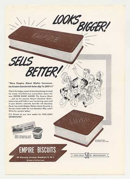 Empire Biscuits Ice Cream Sandwich (1949)