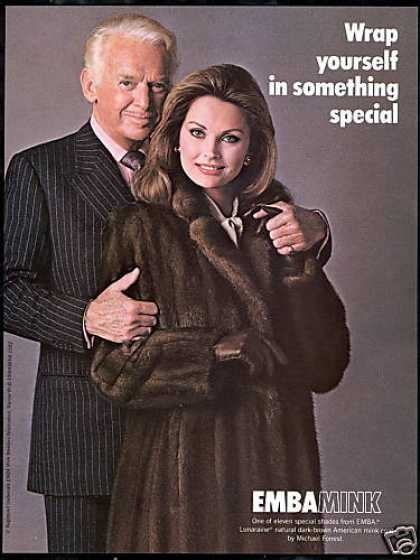 Emba Mink Fur Coat Douglas Fairbanks Jr. (1982)
