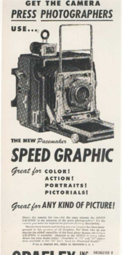 Graflex's New Pacemaker Speed Graphic (1947)
