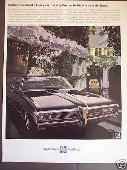 Pontiac Wide Track Bonneville Gm Car (1968)
