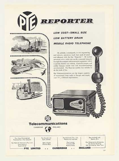 Pye Reporter Mobile Radio Telephone (1955)