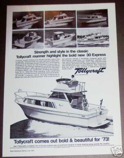 Tollycraft 30 Express Cruiser Boat Photo (1973)