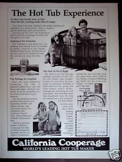 California Cooperage Hot Tubs Original (1979)