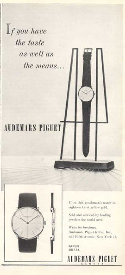 Audemars Piguet Watch (1963)