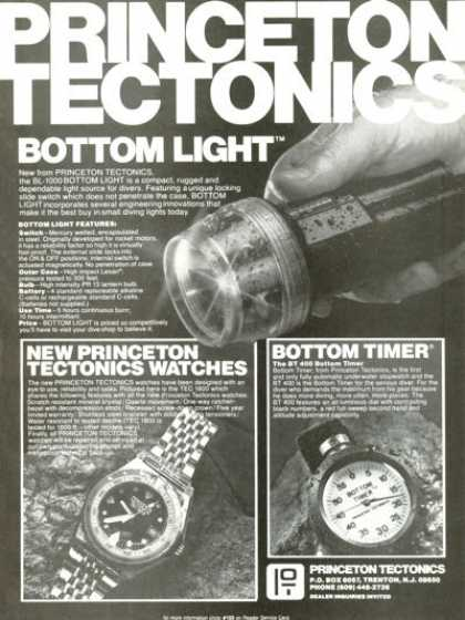 Princeton Tectonics Tec 1800 Watch Bottom Timer (1980)