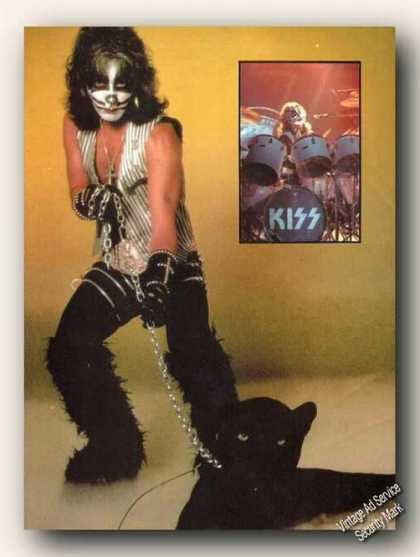Kiss/peter Criss Photo Magazine Print Feature (1979)