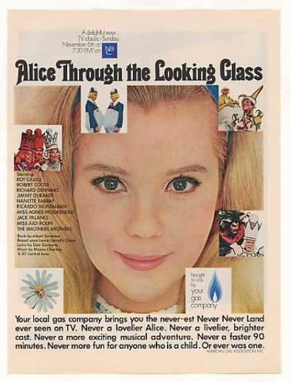 NBC TV Alice Through the Looking Glass AGA (1966)