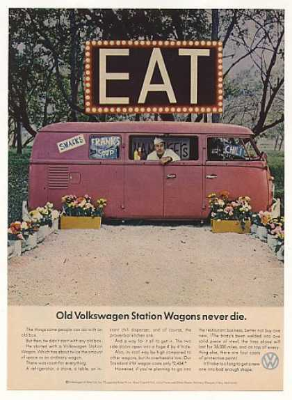 VW Volkswagen Station Wagon Restaurant (1966)