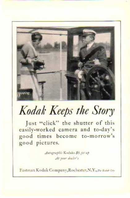 Kodak – Eastman Kodak Keeps the Story (1924)
