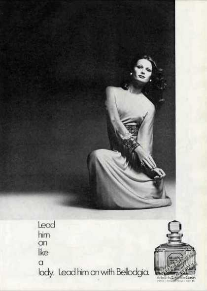 """Lead Him On With Bellodgia"" Perfume (1972)"