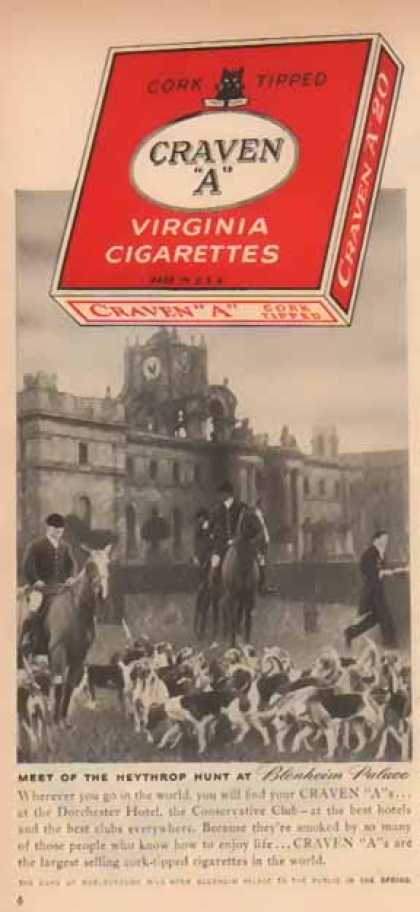 Craven A's Virgina Cigarettes – Blenheim Palace (1949)