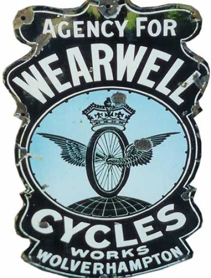 Wearwell Bicycles Sign