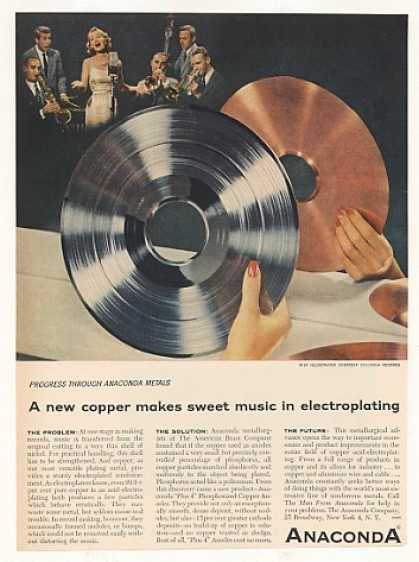 Anaconda Copper Electroplating Columbia Record (1955)