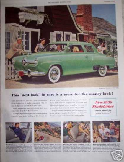 Studebaker Champion for 1950 Green Car (1949)