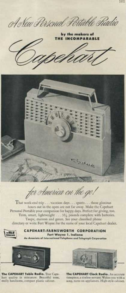 Capehart Farnsworth Portable Radio (1952)