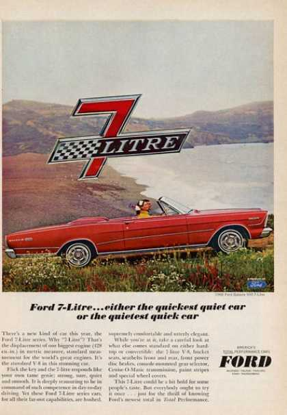 Ford Convertible Galaxie 500 Red (1965)