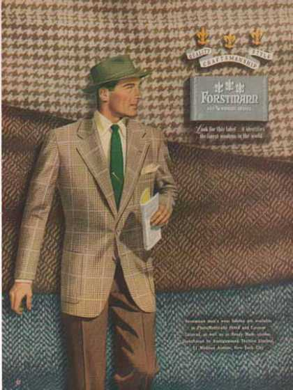 Forstmann Virgin Wool – Wool Sports Jacket – Sold (1949)