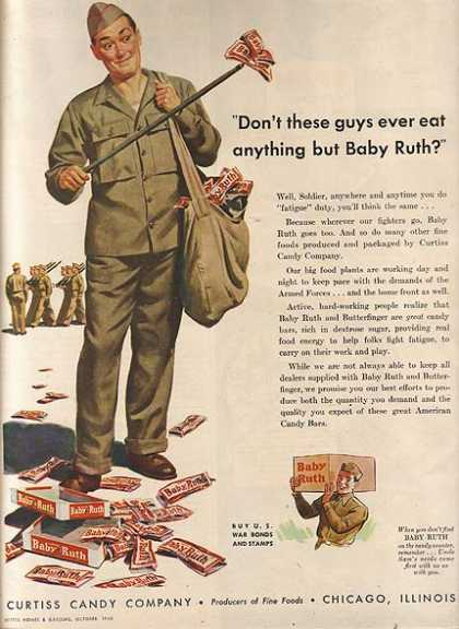Baby Ruth's fatigue duty (1943)