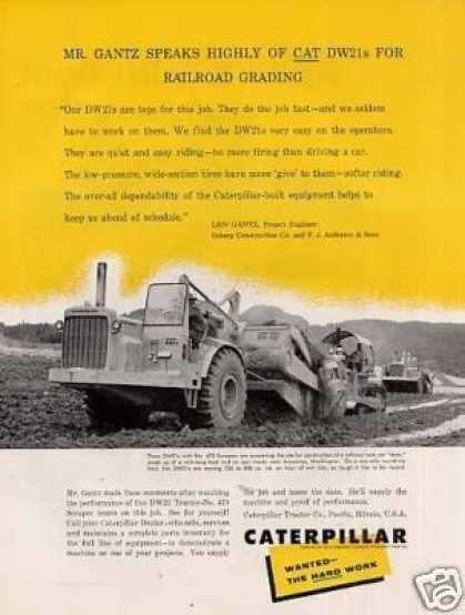 Caterpillar Dw21 Tractor (1958)