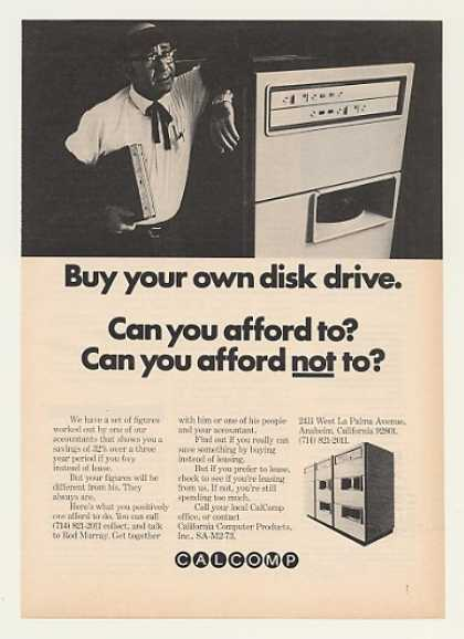 CalComp Buy Your Own Computer Disk Drive (1973)