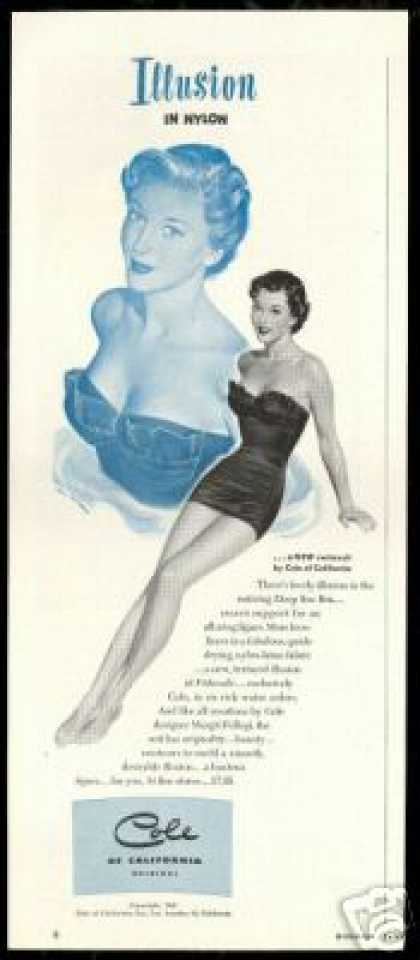 Cole Swimsuit Pretty Woman Ren Wicks Art (1950)