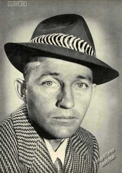 Bing Crosby Collectible Photo Print (1945)
