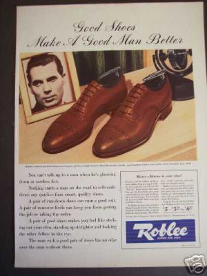 Roblee Men's Shoes Calf Leather (1941)