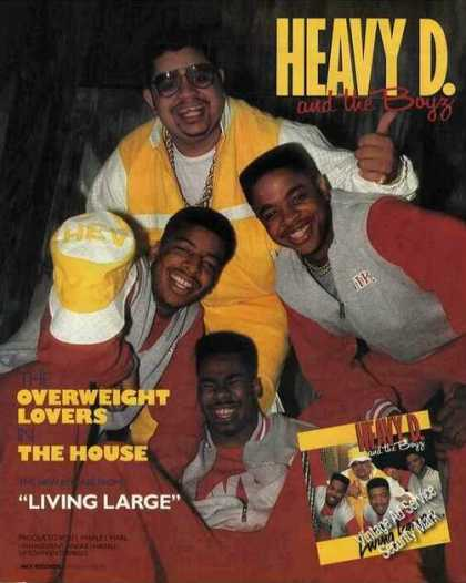 Heavy D. and the Boyz Photo Music Promo (1987)