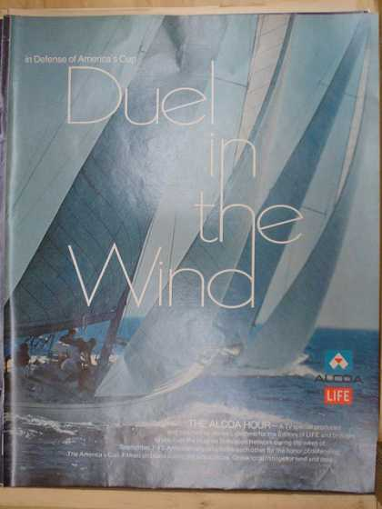 Alcoa Aluminum and Life Magazine. Duel in the wind Sailing. America's Cup (1970)
